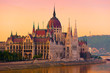 The House of Parliament, Budapest, at sunrise
