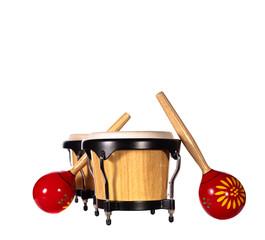 Bongo drums & maracas