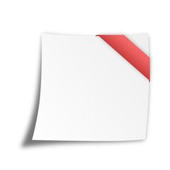 Notizzettel blanko