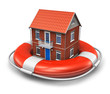 Real estate insurance concept