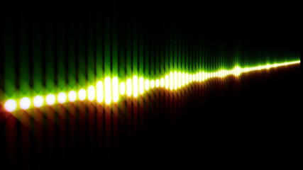 Green and red equalizer  - HD1080