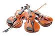 violons et trois quart
