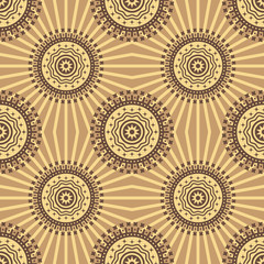 Abstract seamless background pattern. Vector.