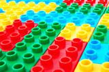 Lego background poster