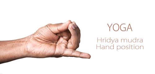 Yoga hridya mudra