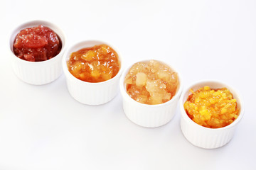 yellow fruits jam