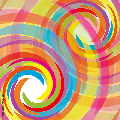 Abstract bacground with rainbow, vector illustration eps 10.0