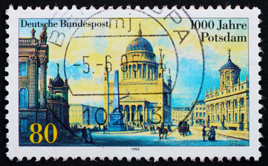 Postage stamp Germany 1993 City of Potsdam