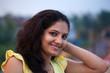 Smile of beautiful Indian girl