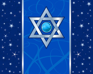 Magen David Holiday design