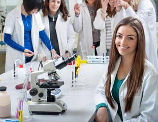 portrait of medical students