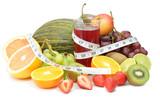 Fruit detox poster
