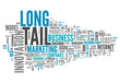 "Word Cloud ""Long Tail"""