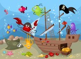 Fototapety sea life