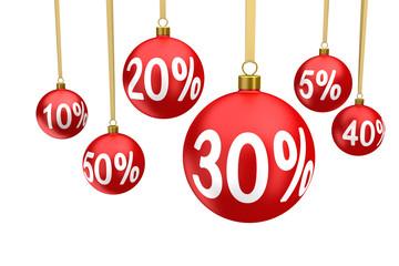Christmas balls sale