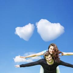 Liebe auf Wolke 7