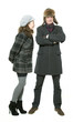winter love couple 2872