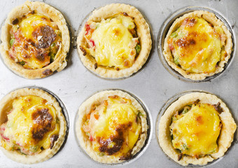 Vegetable and Cheese Tart