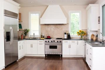 Modern gourmet kitchen