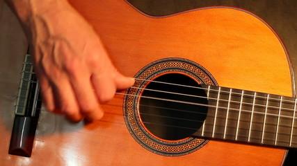 Classic guitar solo