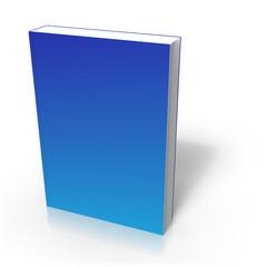 Couverture de livret bleu