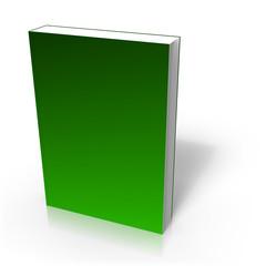 Couverture de livre electronique de couleur verte