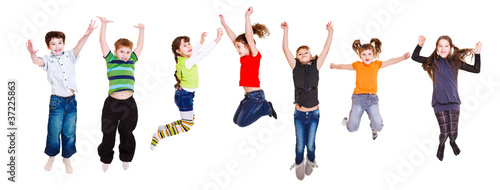 Jumping children