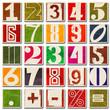 Zahlen-Set