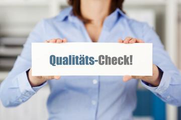 qualitäts-check