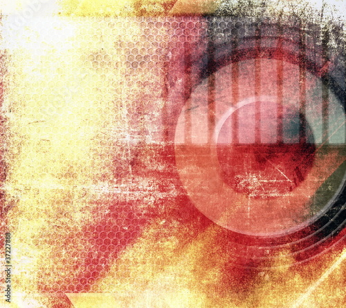 Abstract grunge musical background