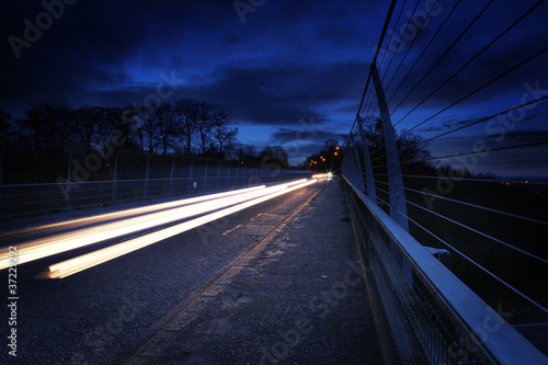 headlight trails