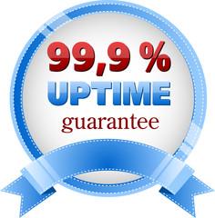 99,9% uptime