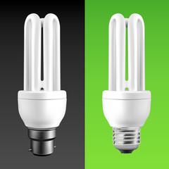 Energy Saving Fluorescent Light Bulbs