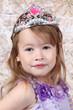 Little girl Dressed at Princess