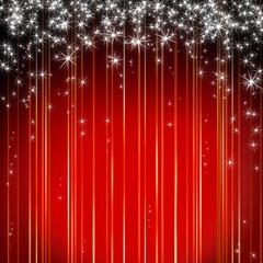 Xmas Hintergrund rot