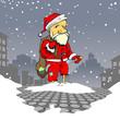 Poor, poor Santa
