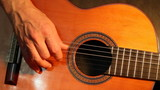 Fingerpicking classical guitar