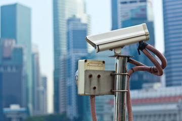 CCTV surveillance camera in Singapore