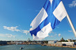 Waving Finnish Flag