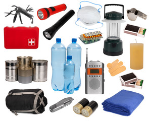 Objects useful in an emergency situation
