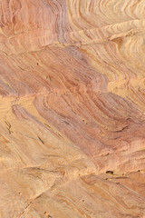 Sandstone valley floor