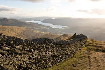 Lake District Mountain Wall