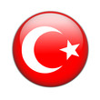 turkey, flag button