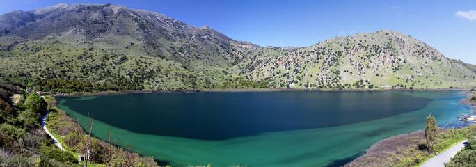 Lago Kournas (Creta,Grecia)