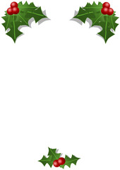 Mistletoe with free space