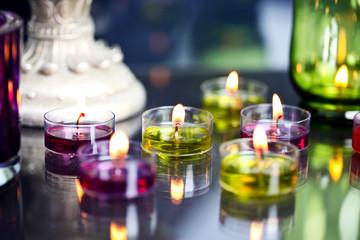 Kerzen -  Ambiente im Kerzenlicht
