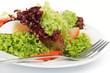 Bunter Salat mit Ei