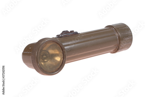 Poster World War Two Period US Army Flash Light
