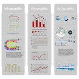 infographic vector graphs and elements. vector illustration. poster