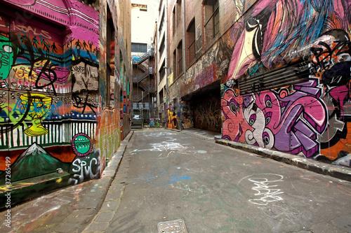 Papiers peints Australie Graffiti Alley